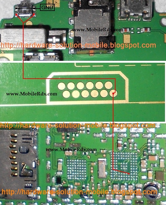 Nokia 5233 Power Switch Key Ways Jumper