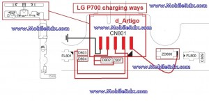 lg p700 charging ways jumper 300x145 - LG Optimus P700 Charging And Usb Ways Jumper