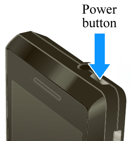 power button - Motorola Droid 2 A955 Hard Reset Solution