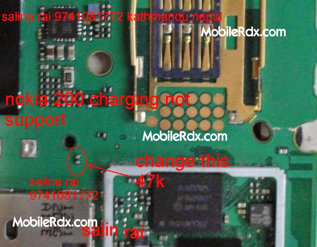 nokia 200 201 charging not supported solution - Nokia Asha 201 Charging Problem Jumper Ways