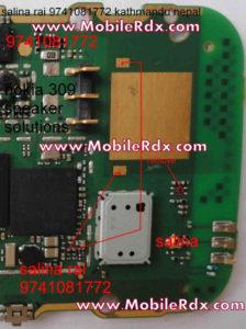 nokia 310 speaker buzzer ways 224x300 - Asha 310 Ringer Problem Ways Jumper Solution