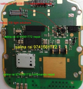 Nokia Asha 308, 309,310 Lcd Light Solution