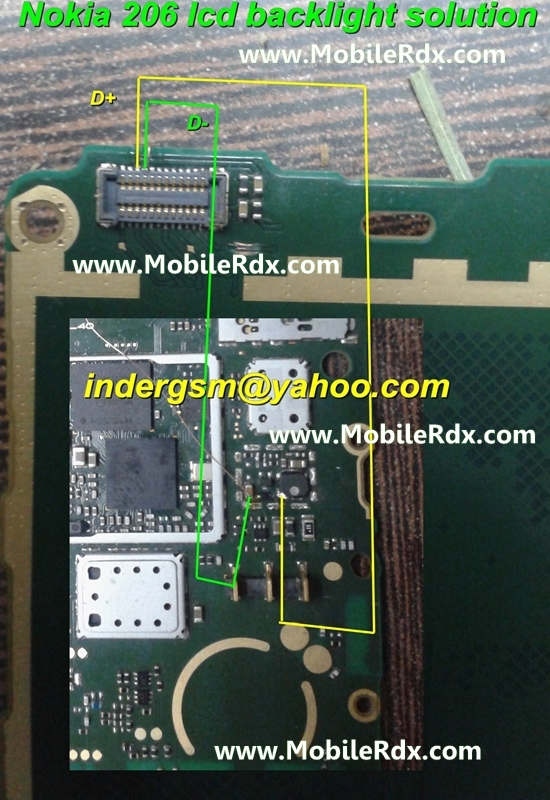 nokia-206-display-lcd-light-ways-solution1