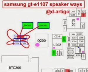 samsung gt e1107speaker ways jumper 300x248 - Samsung e1107 Speaker Ways Jumper Solution