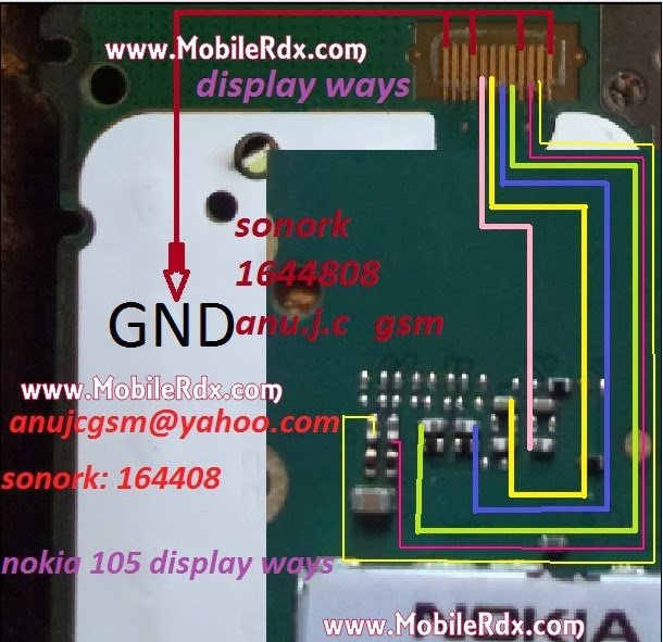 nokia 105 full lcd ways1