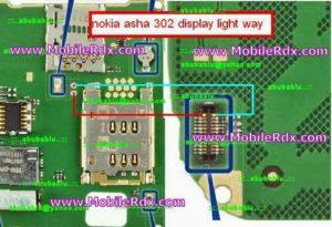 nokia 302 display light way jumper1 300x205 - Asha 302 Display And Keypad Light Problem Solution Ways