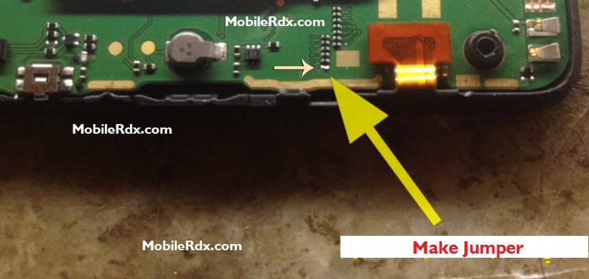 Nokia 501 Display Light Ways Jumper Solution