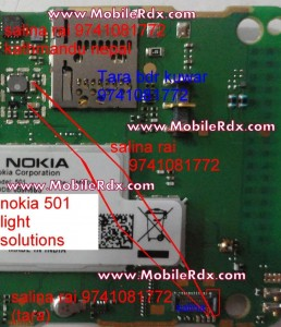 nokia 501 light solution jumper 258x300 - Nokia 501 Light Problem Solution Jumper