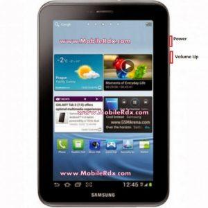 samsung Galaxy Tab 2 p3100 hard reset keys1 300x300
