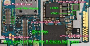 sony st18 xperia ray displaylight solution21 300x153 - Sony Ericsson ST18i Display Light Problem Jumper Solution