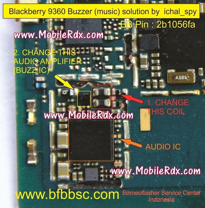 Blackberry 9360 Buzzer Speaker Problem Solution1