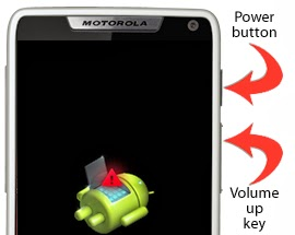 android system recovery 01 - How To Hard Reset Motorola Droid Razr M XT907