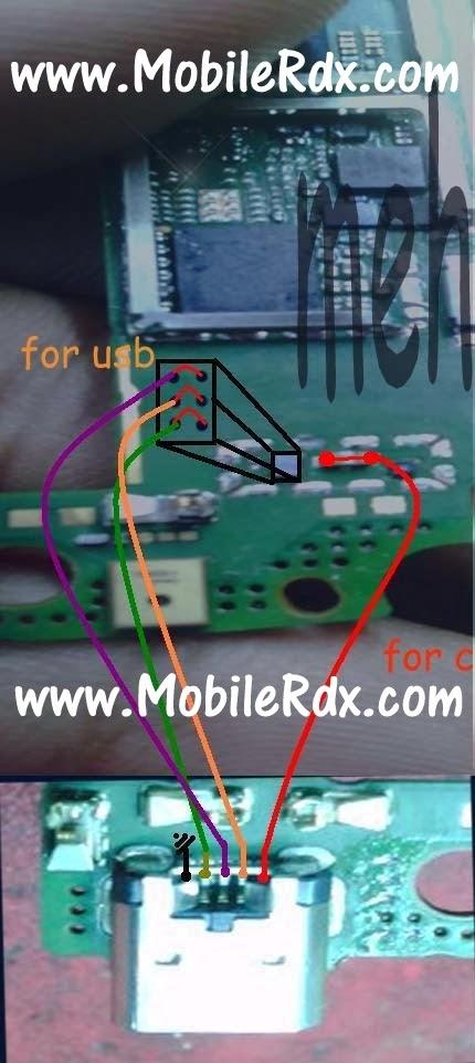 Lumia 520 charging usb jumper ways - Nokia Lumia 520 Usb And Charging Ways Jumper Solution