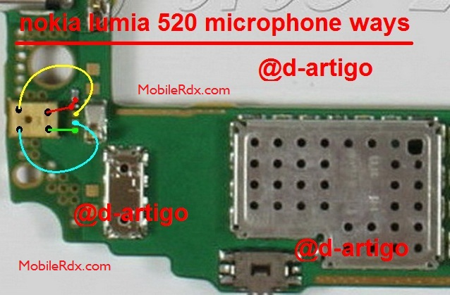 Nokia Lumia 520 Mic Ways Solution Jumper Microphone