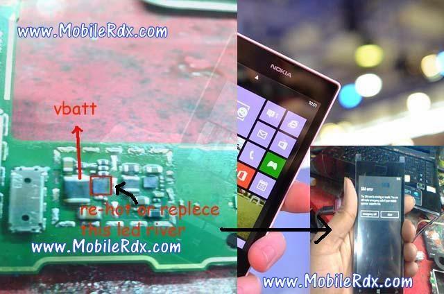 lumia 520 lcd light solution1
