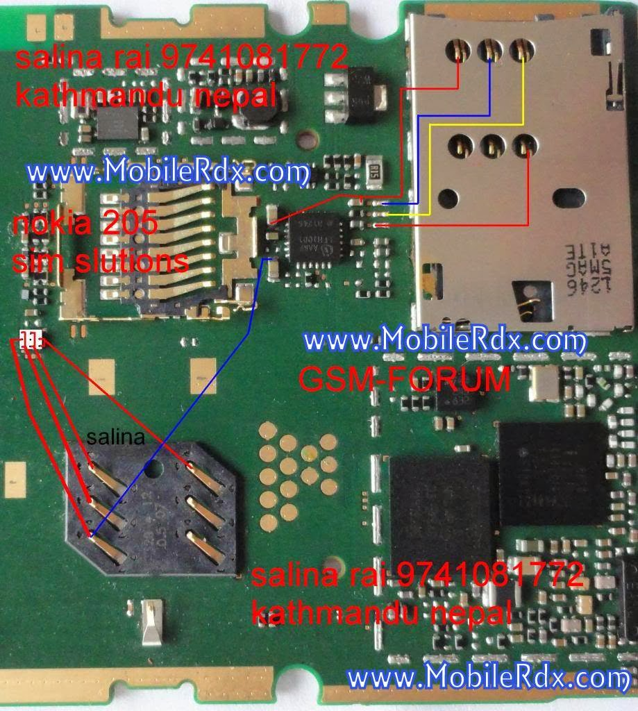 nokia 205 insert sim problem solution1