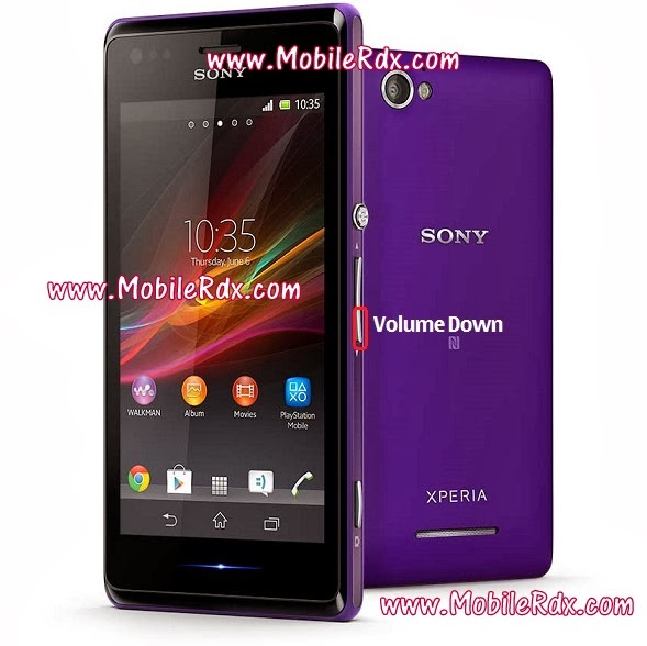 xperia m reset1 - How To Hard Reset Remove Pattern Lock From Sony Xperia M C1905