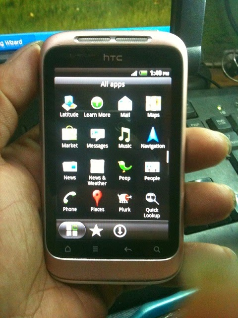5 - How To Hard Reset Htc Wildfire S A510e Remove Pattern Lock
