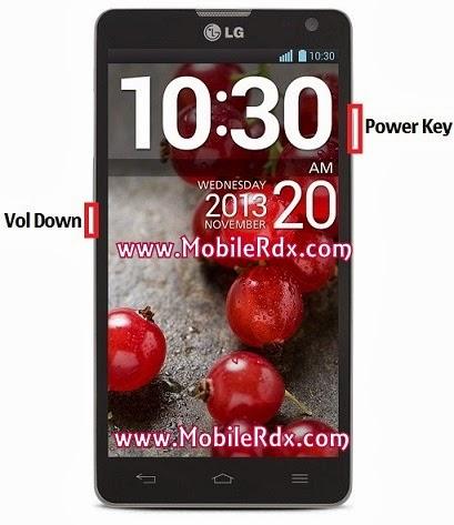 LG L9II reset1 - LG Optimus L9 II D605 Hard Reset Keys