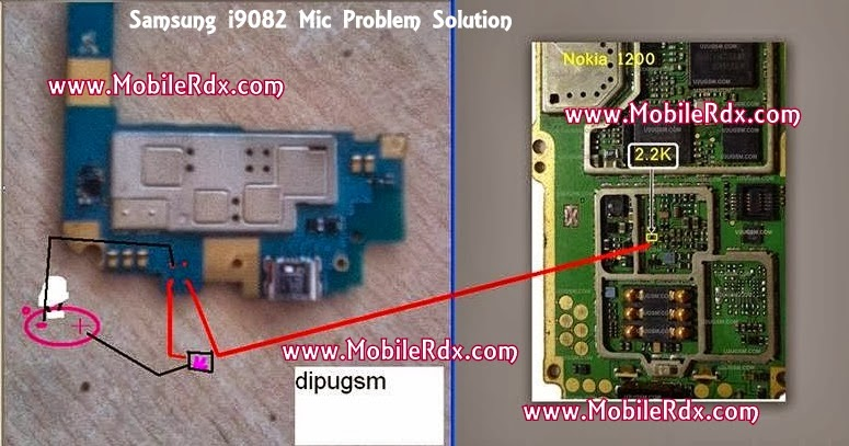 Samsung 9082 mic ways solution