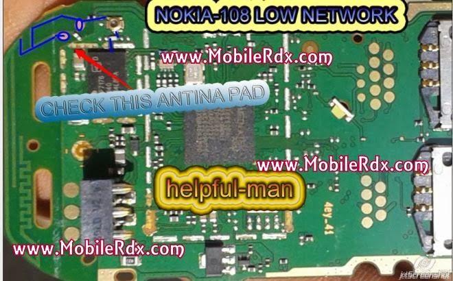 nokia 108 network solution