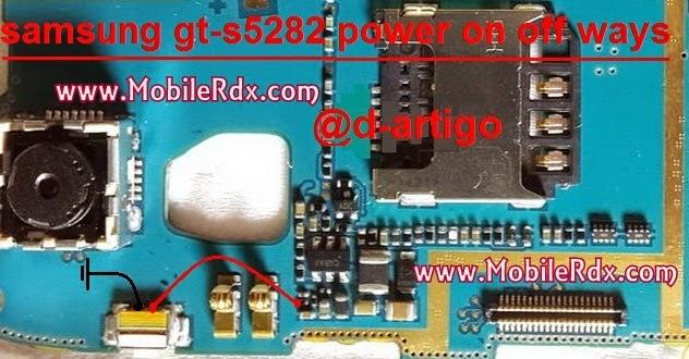 Samsung S5282 Power On Off Button Ways1