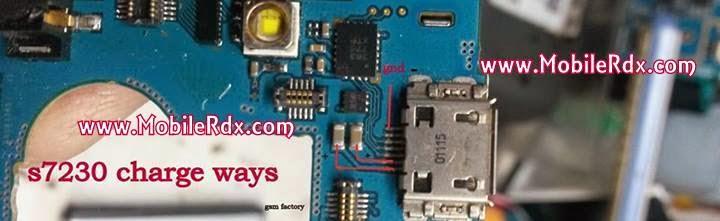 Samsung S7230 Charging Problem Jumper Ways