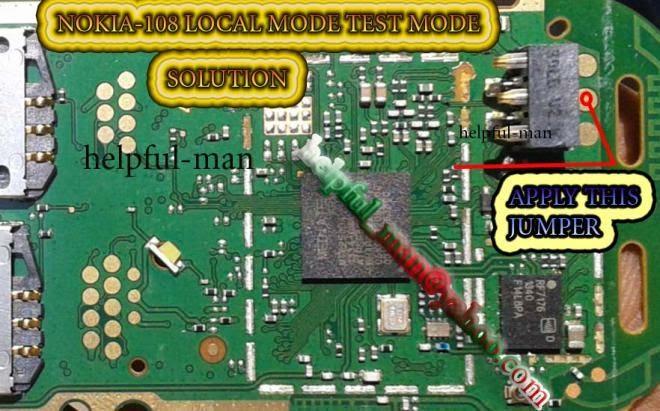 Nokia    108 Local Mode Test Mode Problem Solution