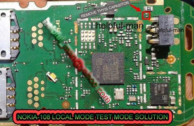 local mode copy1 - Nokia 108 Local Mode Test Mode Problem Solution