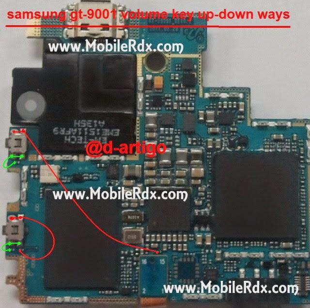 Samsung GT I9001 Volume Up Down Key Ways1