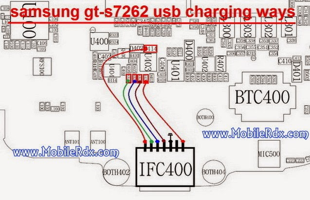 Samsung S7262 Charging And Usb Ways - Samsung S7262 Charging And Usb Ways
