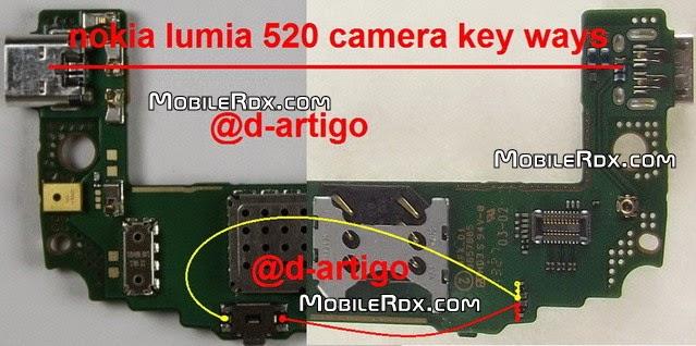 nokia 520 camera button ways