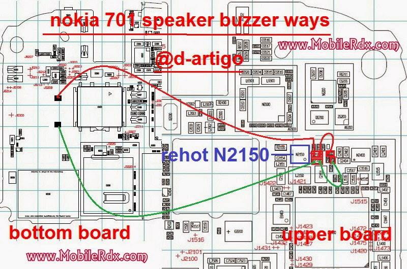 nokia 701 ringer speaker ways - Nokia 701 Ringer Buzzer Problem Solution