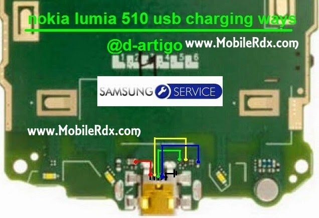 nokia lumia 510 usb charging ways