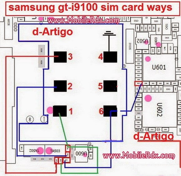 samsung s2 insert sim jumper solution - Samsung Galaxy S2 (GT-I9100) Insert Sim Solution