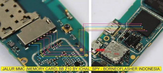 Blackberry Z10 mmc ways jumper - Blackberry Z10 Mmc (Memory Card) Problem Jumpers