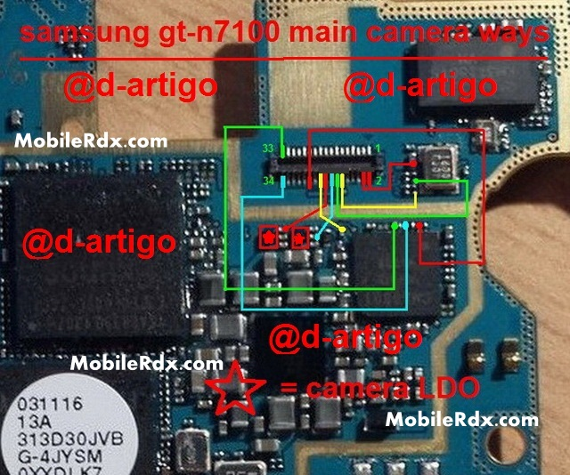 Samsung GT N7100 Camera Ways Problem Solution