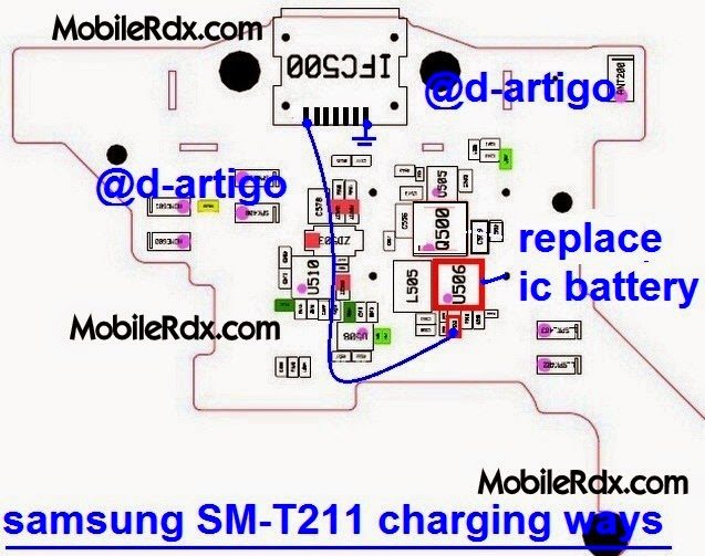 Samsung Tab 3 SM T211 Charging Solution Ways