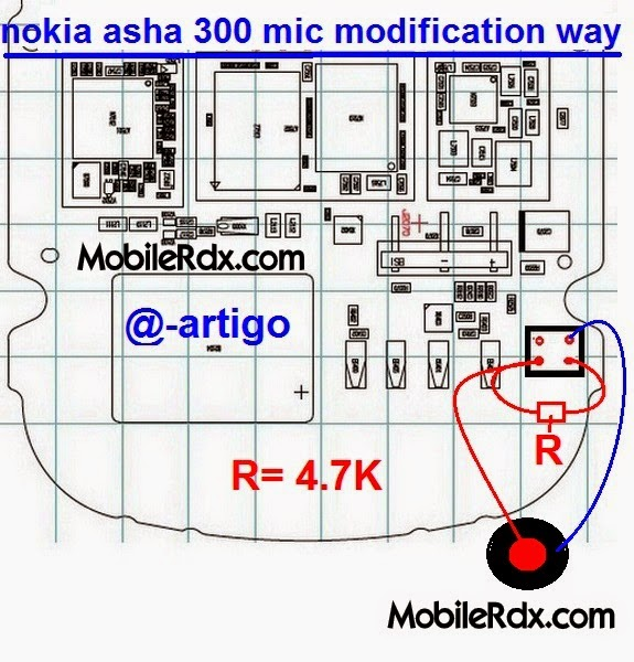 nokia asha 300 mic ways jumper