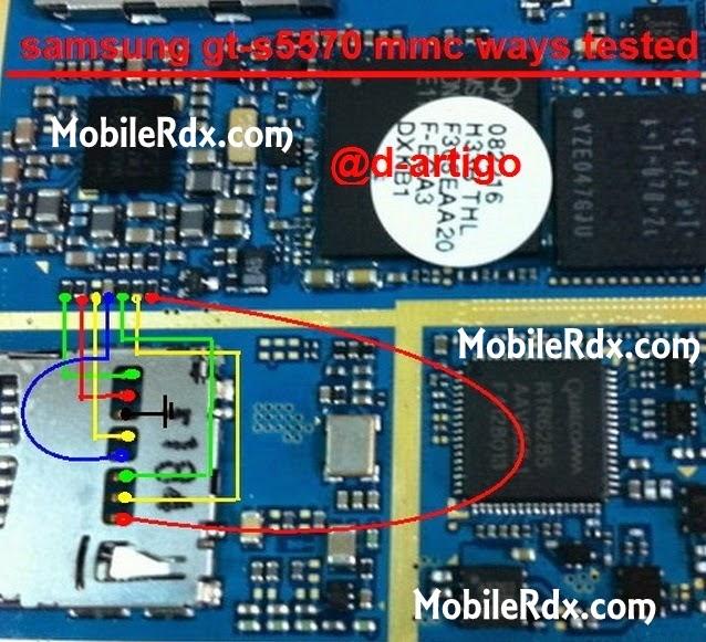 s5570 mmc solution ways - Samsung GT-S5570 Mmc Memory Card Solution Jumper