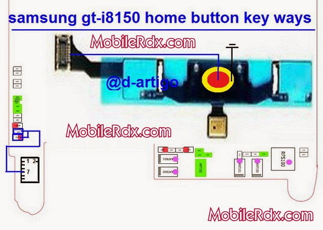 samsung gt i8150 home button ways