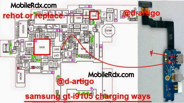 samsung gt i9105p charging jumper ways