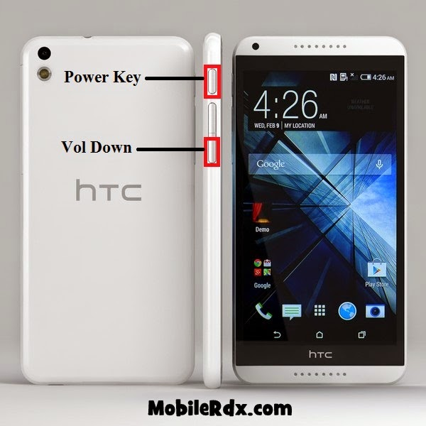 HTC desire 816 hard reset - Htc Desire 816 Remove Pattern Lock Hard Reset Solution