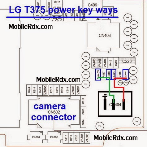 LGT375 power key jumper ways