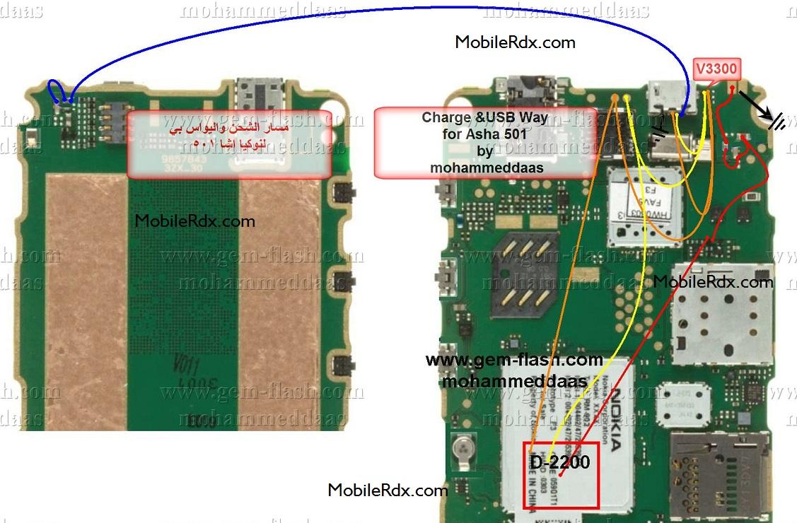Nokia 501 Charging Solution Usb Pinout Ways