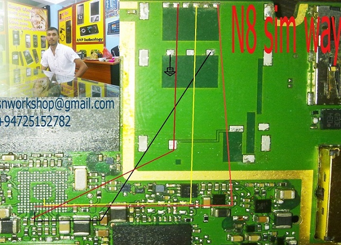 Nokia N8 Insert Sim Card Solution - Nokia N8 Insert Sim Solution With Ways Jumper