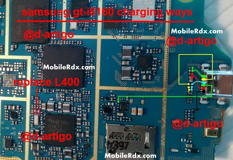 Samsung GT I8160 Charging Ways Usb Problem Solution
