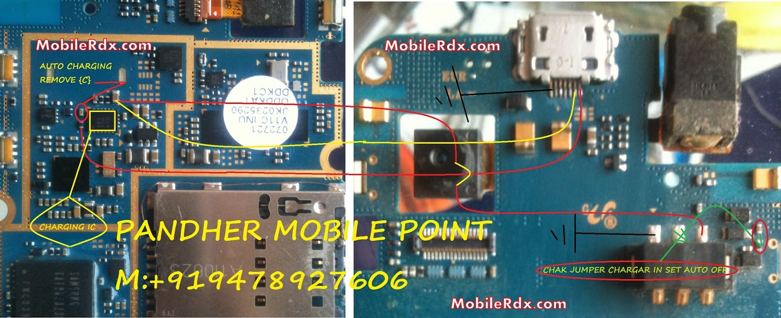 Samsung GT-S5253 Full Charging Ways Repair Solution