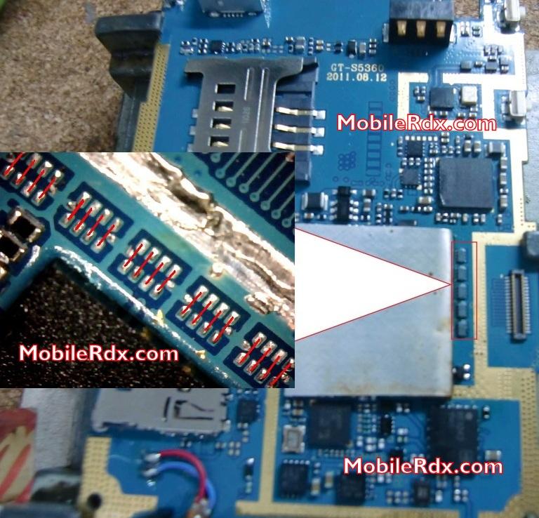 Samsung GT S5360 White Display Lcd Problem Solution - Samsung S5360 White Blank Display Problem Solution