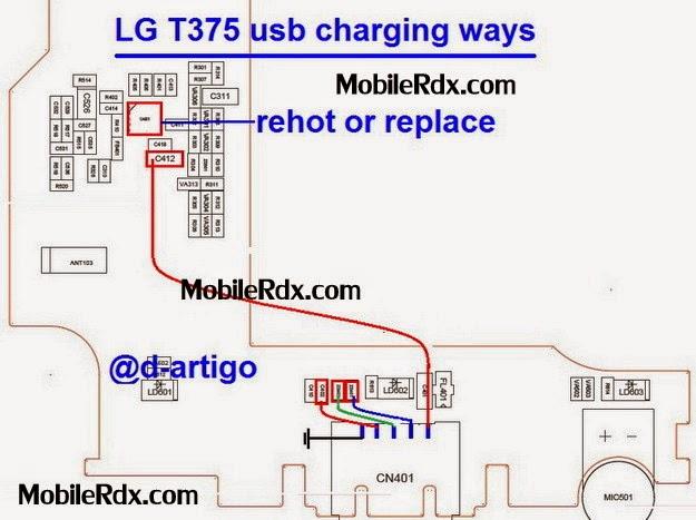 lg t375 usb charging ways jumper solution - Lg t375 Charging And Usb Jumper Solution